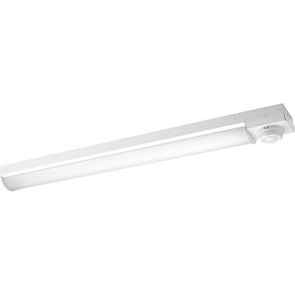 Progress Commercial Lighting-PCISW-LED-4-35K-54 Inch 52W 3500K LED Stairwell Light  White Finish with Acrylic Glass