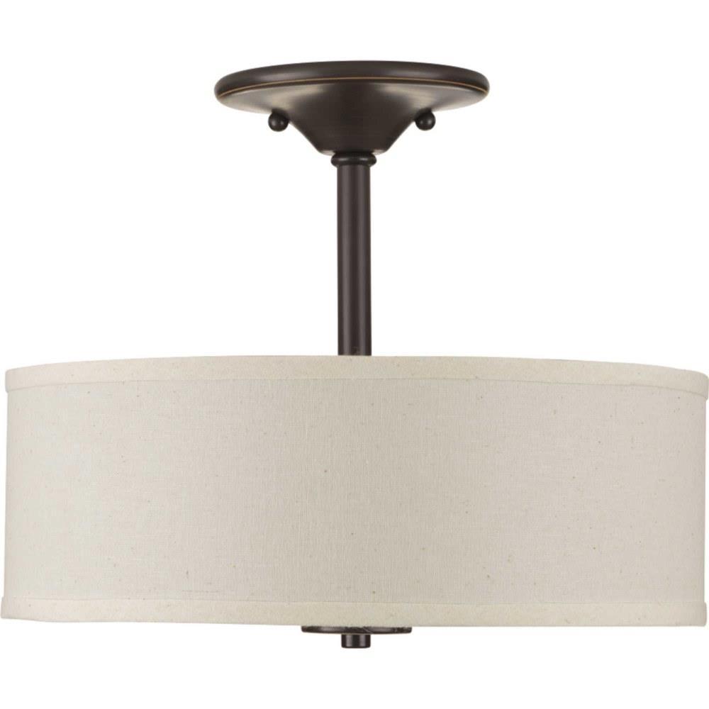 Inspire Two Light Semi Flush Mount