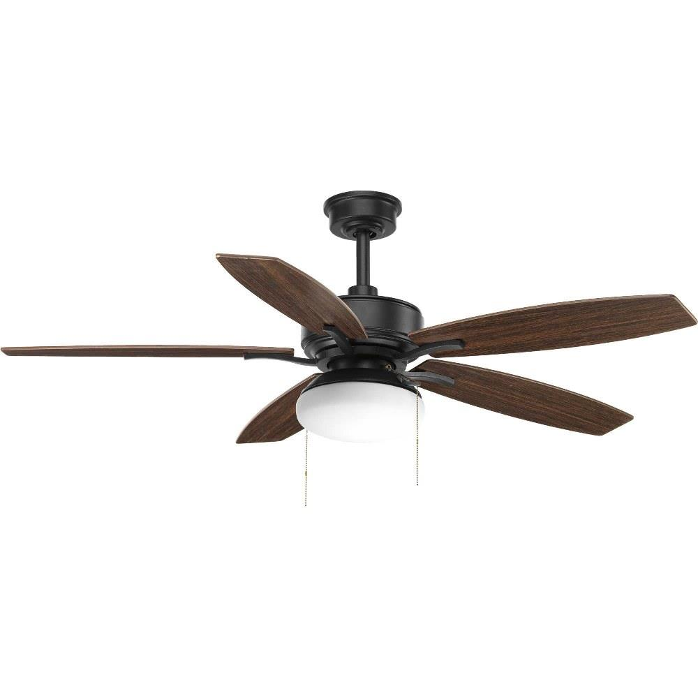 Progress Lighting P255b Billows 52 Inch Wide Ceiling Fan 2 Light