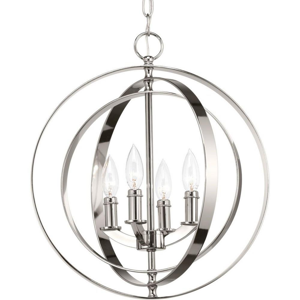 Equinox Four Light Sphere Pendant