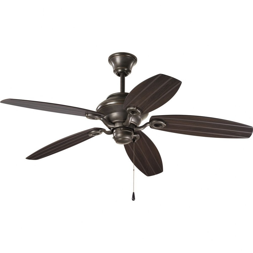 Progress Lighting-P2533-20-AirPro Outdoor - 54 Inch Wide - Ceiling Fan - Wet Rated  Antique Bronze Finish