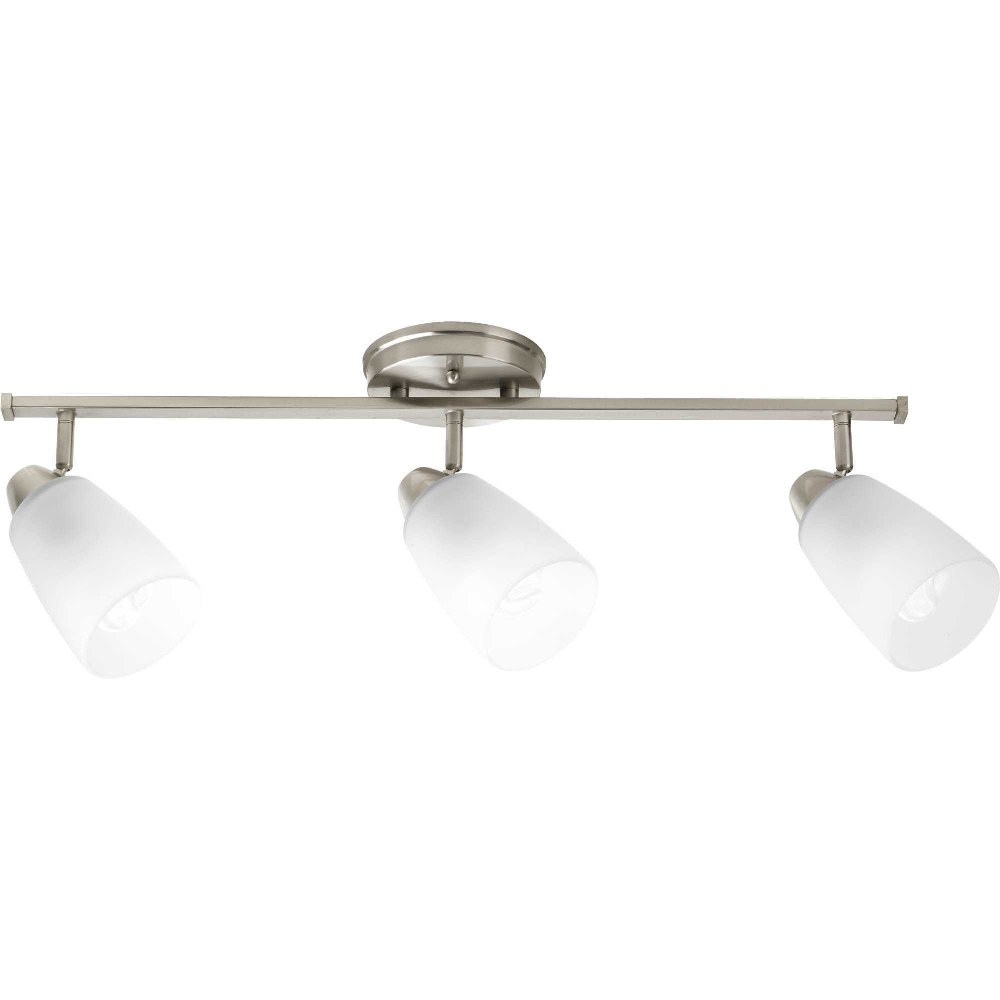 P3360-09 Progress Wisten 1-Light Directional Etched Glass in Brushed Nickel