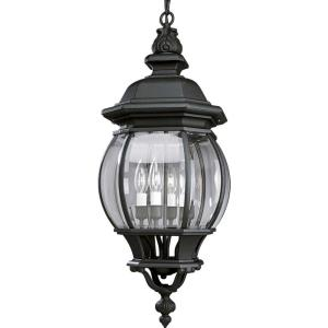 Onion - four Light hanging Lantern