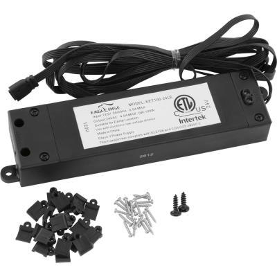 Progress Lighting P8683-31 Hide-a-Lite 4 - 24V 100W LED Tape Transformer