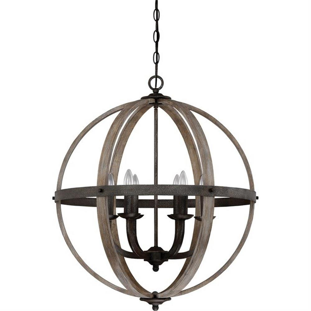 Fusion Six Light Chandelier