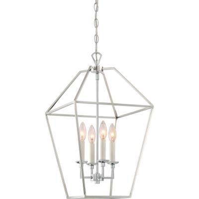 Quoizel Lighting Avy5204 Aviary Four Light Extra Large Cage Chandelier