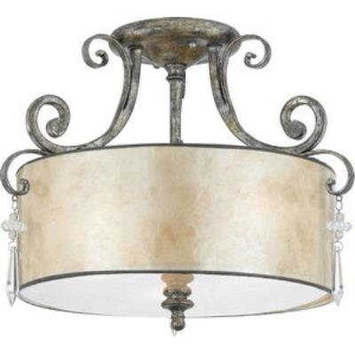 Quoizel Lighting KD1716MM Kendra - Three Light Semi Flush Mount