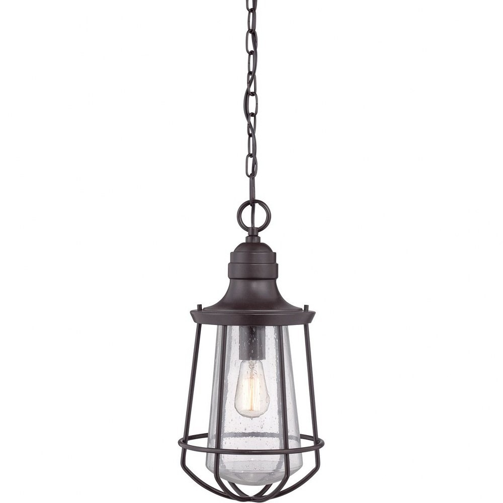 Quoizel Lighting-MRE1909WT-Marine - 1 Light Outdoor Hanging Lantern  Western Bronze Finish