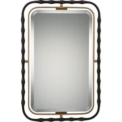 "Quoizel Lighting QR1922WT Reflections - 37.5"" Rectangular Mirror"