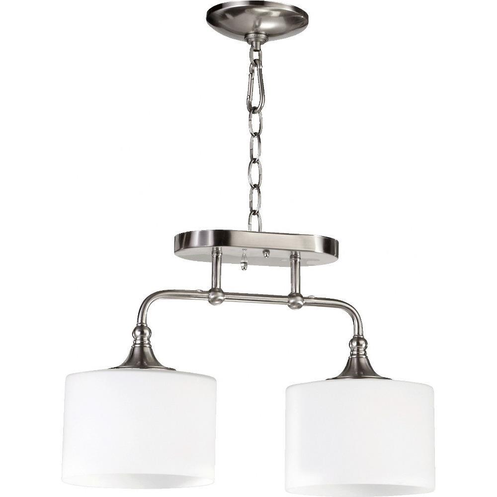 Quorum Lighting 3290 2 Rockwood Two Light Semi Flush Mount