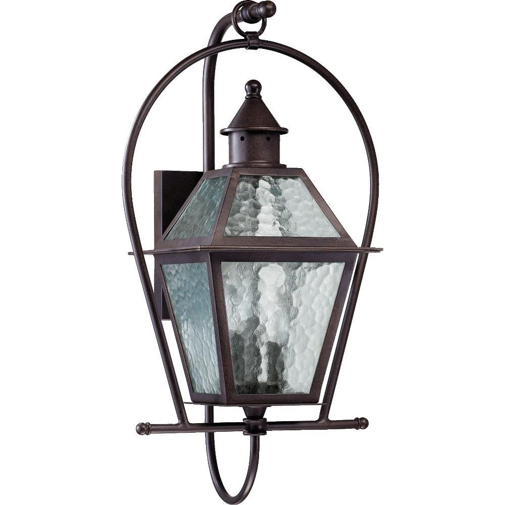 French Quarter Three Light Outdoor Wall Lantern