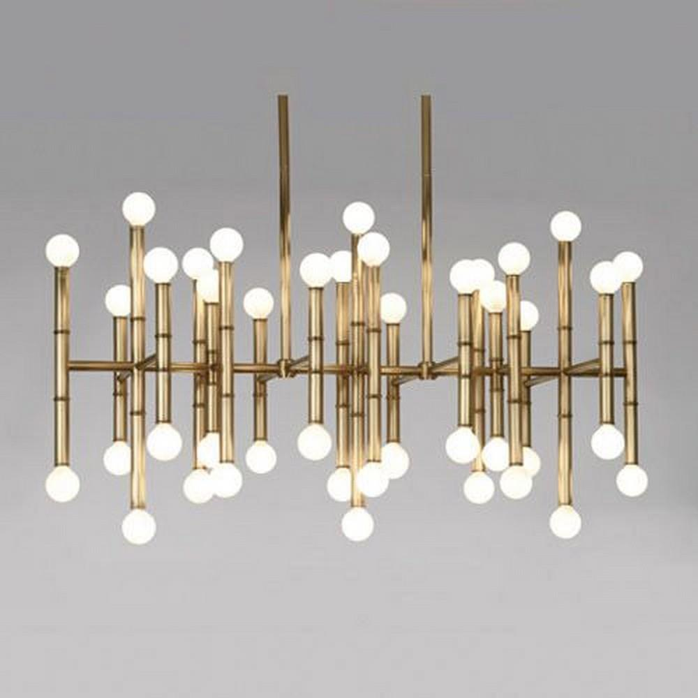 Jonathan Adler Meurice Fotry Two Light Chandelier