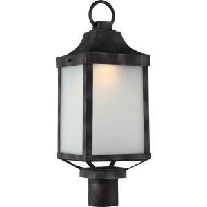 "Winthrop - 21.25"" 14W 1 LED Outdoor Post Lantern"