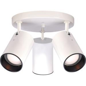 50W Three Light Straight Cylinder Semi-Flush Mount