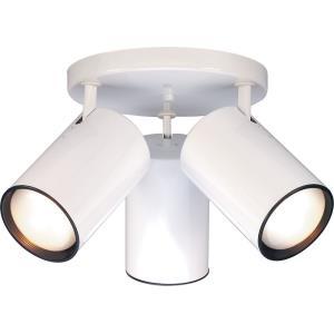75W Three Light Straight Cylinder Semi-Flush Mount