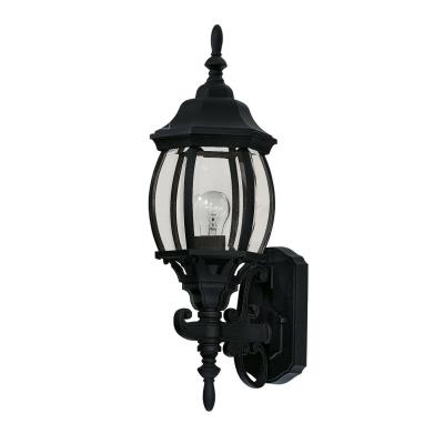 Savoy House 07073-BLK One Light Outdoor Wall Lantern