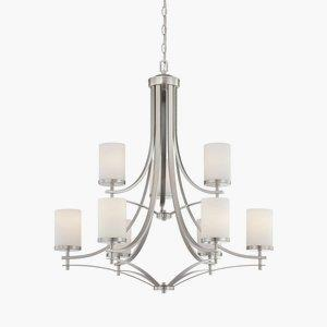 Colton Nine Light Chandelier