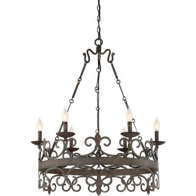 Savoy house 1 8000 6 64 flanders six light chandelier aloadofball Images