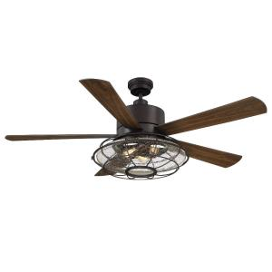 "Connell - 56"" Ceiling Fan with Light Kit"