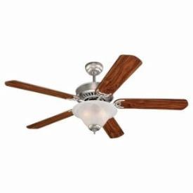 "Sea Gull Lighting 15160B-255 Quality Pro Deluxe - 52"" Ceiling Fan"