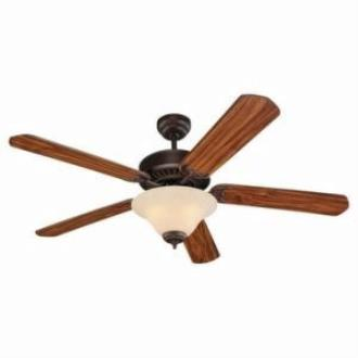 "Sea Gull Lighting 15161B-191 Quality Pro Deluxe - 52"" Ceiling Fan"