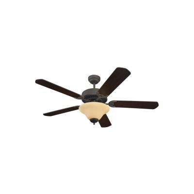"Sea Gull Lighting 15161B-191 Quality Pro Deluxe - 52"" Ceiling Fan"