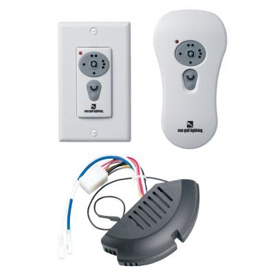 Sea Gull Lighting 16005 Remote Wall/Handheld Combo Control Kit