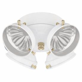 Sea Gull Lighting 16151B-15 Four Light Ceiling Fan Kit