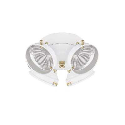 Sea Gull Lighting 16151B-15 Four Light Ceiling Fan Kit