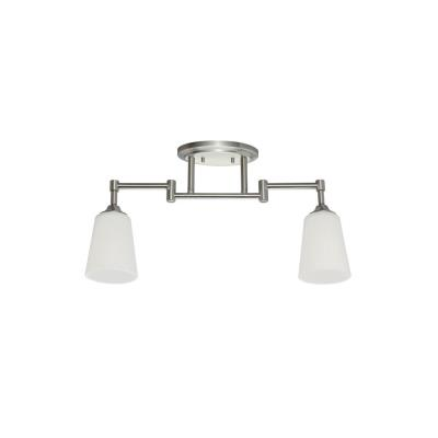 Sea Gull Lighting 2530402-962 Two Light Track Kit