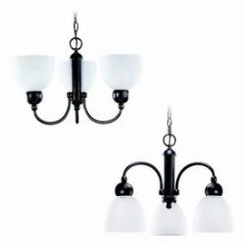 Sea Gull Lighting 31035-777 Three-light Metropolis Chandelier