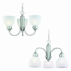 Sea Gull Lighting 31035-962 Three-light Metropolis Chandelier