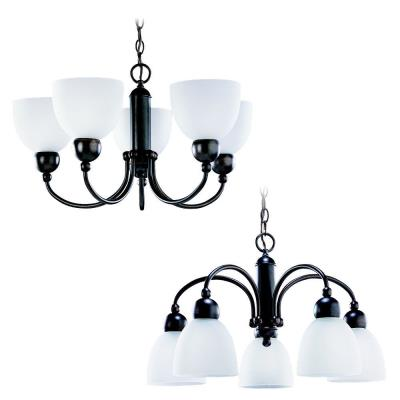 Sea Gull Lighting 31036-777 Five-light Metropolis Chandelier
