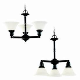 Sea Gull Lighting 31060-782 Three-light Sussex Chandelier
