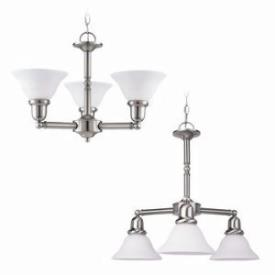 Sea Gull Lighting 31060-962 Three-light Sussex Chandelier