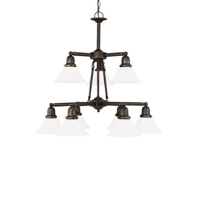 Sea Gull Lighting 31062-782 Nine-light Sussex Chandelier