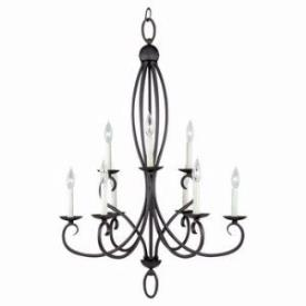 Sea Gull Lighting 31075-799 Nine-light Pemberton Chandelier