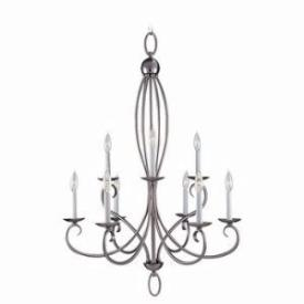Sea Gull Lighting 31075-962 Nine-light Pemberton Chandelier