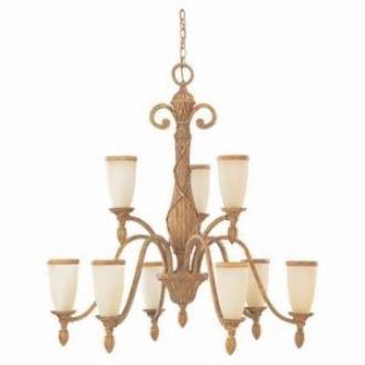 Sea Gull Lighting 31101-801 Nine-light Fairmont Chandelier