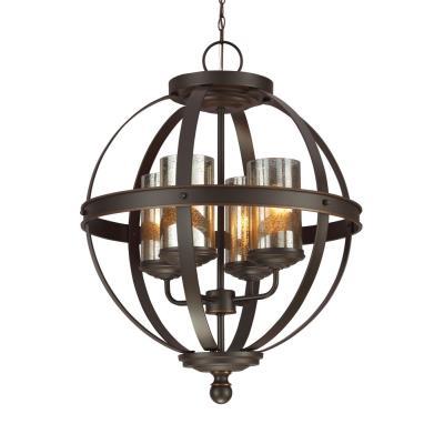 Sea Gull Lighting 3110404-715 Sfera - Four Light Chandelier