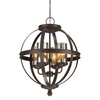 Sea Gull Lighting 3110404BLE-715 Sfera - Four Light Chandelier