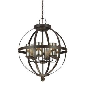 Sea Gull Lighting 3110406-715 Sfera - Six Light Chandelier