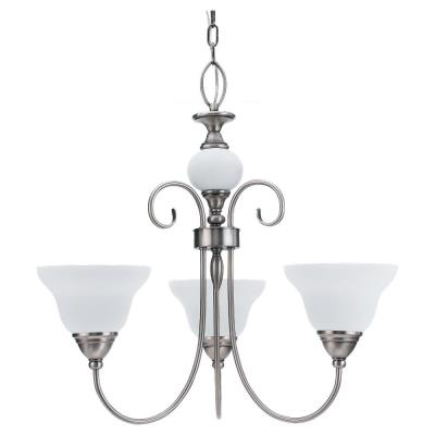 Sea Gull Lighting 31105-965 Three-Light Montclair Chandelier