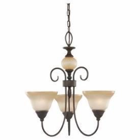 Sea Gull Lighting 31105BLE-72 Three-Light Montclaire Energy Sta
