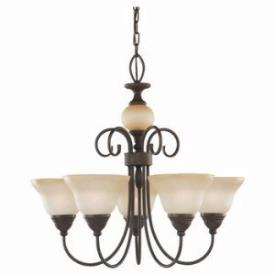 Sea Gull Lighting 31106BLE-72 Energy Star Five-light Monteclaire  Chandelier
