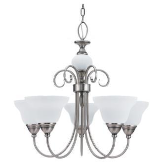 Sea Gull Lighting 31106BLE-965 ENERGY STAR Five-Light Montclaire