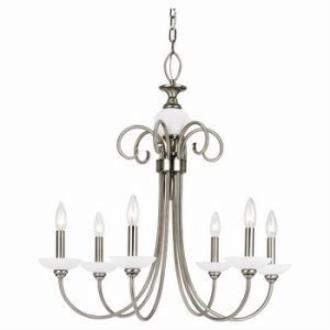 Sea Gull Lighting 31107-965 Six-Light Montclaire Chandelier