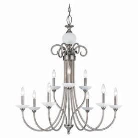 Sea Gull Lighting 31108-965 Nine-Light Montclaire Chandelier