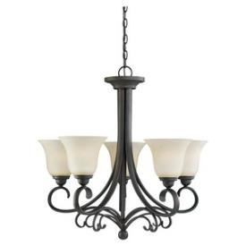 Sea Gull Lighting 31122-820 Del Prato - Five Light Chandelier