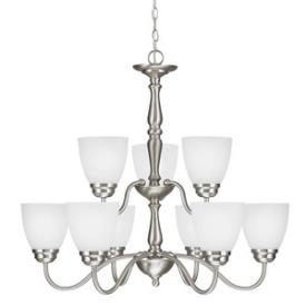 Sea Gull Lighting 3112409-962 Northbrook - Nine Light Chandelier